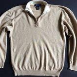 Мужской свитер Hathaway Platinum L Италия шёлк кашемир