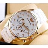 Часы Emporio Armani белые