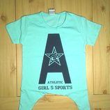 Детская футболка-туника для девочки Girls s sports Beebaby Бибеби