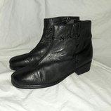 Ботинки кожаные 40размер по стельке 26см