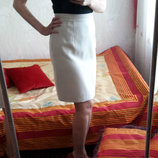 Очень красивая светлая юбка, на подкладке, юбка-карандаш-футляр