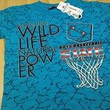 Детская футболка для мальчика рр. 98-122 Beebaby Бибеби
