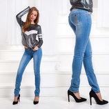 Женские летние стильные джинсы 001