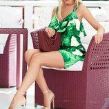Экзотическое летнее платье