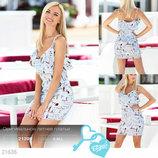Оригинальное летнее платье