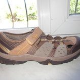 Кожаные сандалии Clarks 4,5 G 38 р