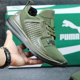Кроссовки PUMA Ignite limitless Dark green