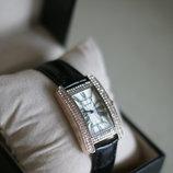 Шикарные женские часы Cartier, отличная реплика Cartier Tank Americaine