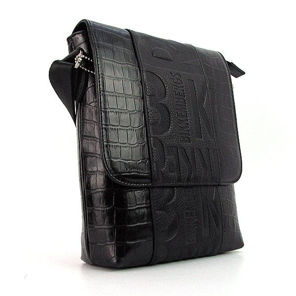 f53d875986cc Продано  Сумка средняя кожаная мужская черная Bikkembergs 1612-19 Турция - мужские  сумки в Одессе, объявление №13674743 Клубок (ранее Клумба)