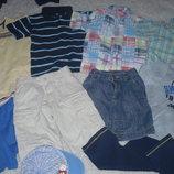 Футболки, рубашки, шорты 98-104см, пакет одежды.