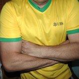 Спортивная фирменная футболка UBS л .
