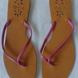 Шлепанцы Accessorize кожаные, размер 34-35