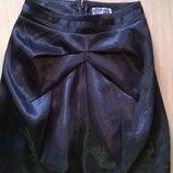 фирменная юбка тюльпан р.ХS/S с отливом Lipsy, сток, качество, стиль, креатив Бомба