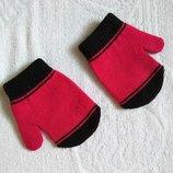 перчатки на девочку 2-3 года. б/ у.