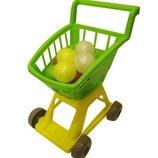 Тележка для супермаркета 4цвета Орион 693 в. 4 тачка магазин Ролевые игры