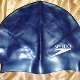 шапочка плавательная Speedo оригинал латекс синяя идеал