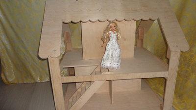 Бесплатная доставка до конца декабря Кукольный двухэтажный домик. Размер 85-78-64 см