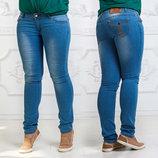 Женские летние стильные джинсы до больших размеров 001.