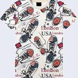 Стильная футболка Кеды Великобритания