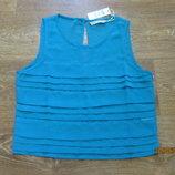 Нежный легкий топ / блуза блузка туника футболка кофточка топик майка топ шифоновая