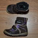 Р. 23 - 14.7 см. Richter-Tex Австрия. Термо ботинки, сапожки фирменные оригинал