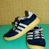 Кроссовки детские синие на мальчика р. 32 Adidas