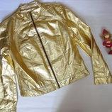 Золотая куртка демисезонная куртка р.12 ог 100, рукав 60