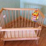 кроватка-люлька для новорожденных