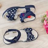 Босоножки синие р.27 Apawwa , новые сандалии, басаножки, босонiжки