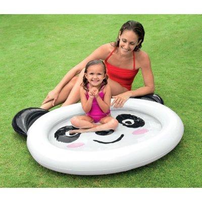 Детский Надувной бассейн Панда 117 89 14см Intex 59407 Интекс