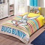 TAC Disney Bugs Bunny Stripe - детское постельное белье