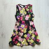 Яркое платье для девочки. Y.D. Размер 5-6 лет. Состояние новой вещи