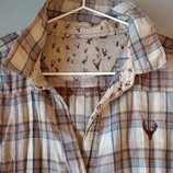 Комбинированное платье-рубашка BWN М