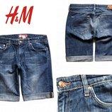 Джинсовые бриджи от H&M