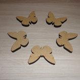 Заготовка - фигурка Бабочка. Декор для скрапбукинга
