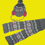 Теплый набор-шапка,шарф на 4-7 лет,HEMA
