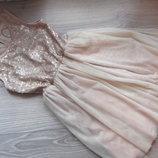 нарядное платье на 7-8 лет. фирма Y.D. состояние отличное