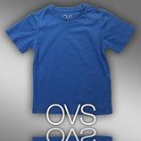 Футболки однотонні для хлопчиків 2-9 років фірми OVS Італія