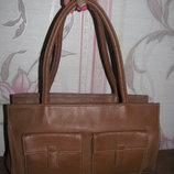 Коричневая сумка TCM