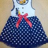 Красивое нарядное платье 5 - 6 лет