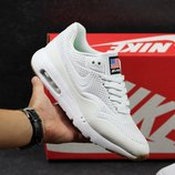 Кроссовки рефлективные Nike Air Max 1 Ultra Moire white