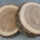 Деревянный спил. Срез дерева. Деревянные кружочки, плашки. Пеньки. Шишки. Дешево