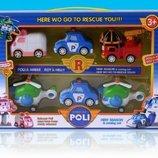 Набор транспорта Robocar Poli в коробке 28,0 20,0 5,5см