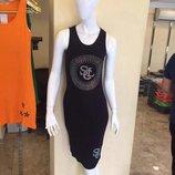 Распродажа Женское платье - майка Ткань лапша миди Большой выбор расцветок Турция