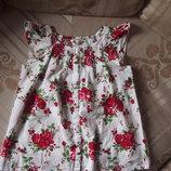 Топ, блуза, туника H&M р.130, 7-8 лет