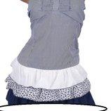 Стильное женское платье Синий 46-48 48-50 50-52 Черный 46-48 48-50