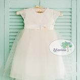 Платье нарядное для малышки, 68,74,80,86,92,98,104,110,116 см