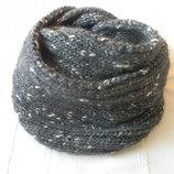 Теплый шарф-снуд