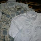 Рубашки мужские с коротким рукавом размер 54-56