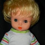 кукла гдр кареглазая